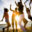 Party on the beach — Stock Photo #9901001