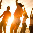 Party on the beach — Stock Photo #9901005
