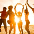 Party on the beach — Stock Photo #9901020