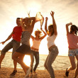 Party on the beach — Stock Photo #9901031