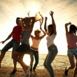 Party on the beach — Stock Photo #9901039