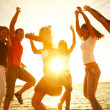 Party on the beach — Stock Photo #9901044