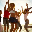 Party on the beach — Stock Photo #9901048