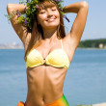 Woman-summer — Stock Photo #9901674