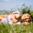 Woman in summer — Stock Photo #9901727