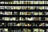 Window of business skyscraper — Stock Photo