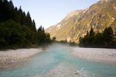 Soca river — Stockfoto