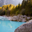 Soca river — Stock Photo