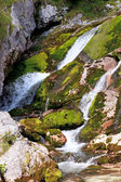Waterfall, Julian Alps — Stock Photo