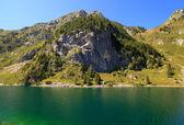 Krnsko lake — Stockfoto