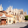 Cathedral of Leon — Stock Photo