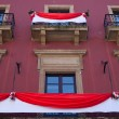 Foto de Stock  : Balcony with drape