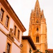 Bell tower of Oviedo cathedral — Stockfoto