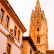 Bell tower of Oviedo cathedral — Lizenzfreies Foto