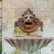 Stock Photo: Bronze fountain