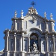 Cathedral, Catania — Stock Photo