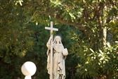 Statue der jungfrau maria — Stockfoto