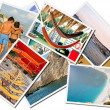 Sea holiday, Photos collage - Stock Photo