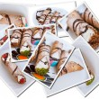 Cannoli's postcards — Foto Stock #7991006
