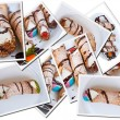 Royalty-Free Stock Photo: Cannoli\'s postcards