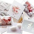 Collages with medicines photos — Stock Photo