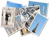Milaan kathedraal, foto's collage — Stockfoto