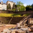 Roman Theater in Trieste - Foto de Stock  