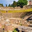 Roman Theater in Trieste - Stock Photo