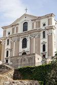 Santa maria maggiore-kyrkan, trieste — Stockfoto