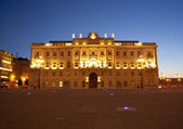Famous building in Trieste — Stock Photo