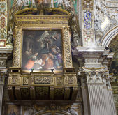 Interior of the Basilica of Santa Maria Maggiore Bergamo Alta — Stockfoto