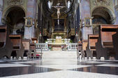 Interior of the Basilica of Santa Maria Maggiore Bergamo Alta — Stock Photo