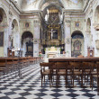 Stock Photo: Interior of Basilicof SantMariMaggiore Bergamo Alta