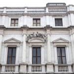 Palazzo nuovo, Bergamo Alta — Stock Photo