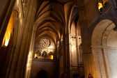 Interior of the Oviedo's Cathedral — Стоковое фото