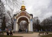 Kapelle des klosters in kiew, ukraine — Stockfoto