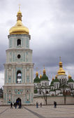 Bell tower of Saint Sophia Cathedral in Kiev — Stock Photo