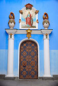 Door of St. Michael's cathedral in Kiev — Stockfoto