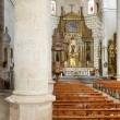 Interior of a church — Foto Stock
