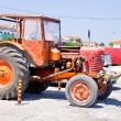 Stock Photo: Orange Tractor