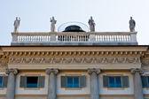 Balustrade in Milan — Stock Photo