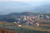 Goce, Little village in the Slovenian countryside — Stock Photo