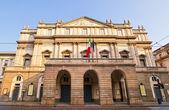 Teatro alla Scala, Milan — Stock Photo