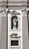 Gorizia, St. Ignatius cathedral — Stock Photo