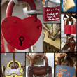Many locks — Stock fotografie #8591003