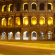 Colosseum at night, Rome — Stock Photo