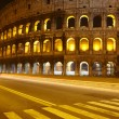 Colosseum at night, Rome — Stock Photo #8610385