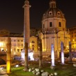 Trajans column and Basilica Ulpia, Rome — Stock Photo #8611912