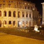 Theatre of Marcellus and Temple of Apollo Sosianus, Rome — Stock Photo