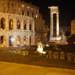 Theatre of Marcellus and Temple of Apollo Sosianus, Rome — Stock Photo